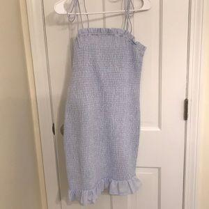 After Market Blue Dress